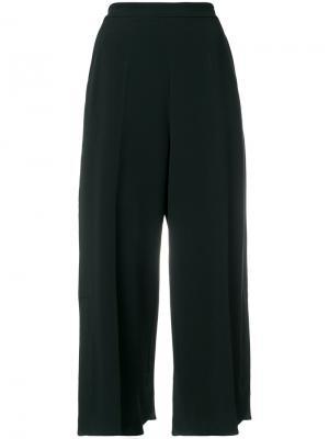 Укороченные брюки Sportmax. Цвет: чёрный