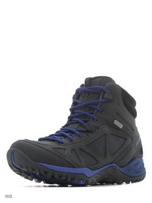 Ботинки MERRELL. Цвет: черный, фиолетовый