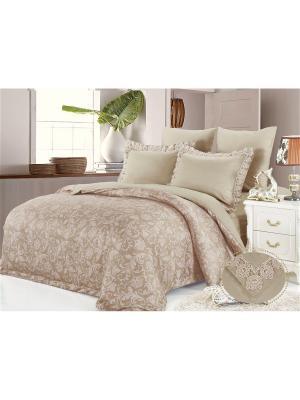 Комплект постельного белья, Империала, Семейный KAZANOV.A.. Цвет: бежевый