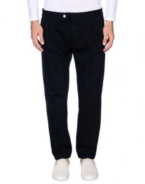 Джинсовые брюки ENTRE AMIS. Цвет: темно-синий