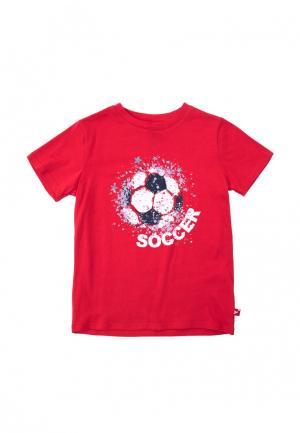 Футболка PlayToday. Цвет: красный