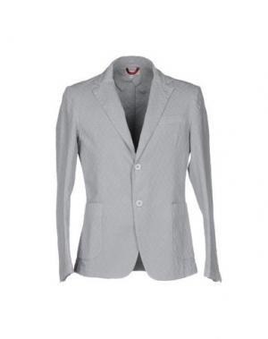 Пиджак D.R SHIRT. Цвет: светло-серый