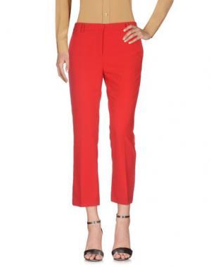 Повседневные брюки F.IT. Цвет: красный
