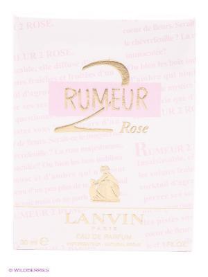 Парфюмерная вода RUMEUR 2 ROSE, 30 мл спрей LANVIN. Цвет: розовый