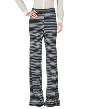 Повседневные брюки DEVOTION. Цвет: серый