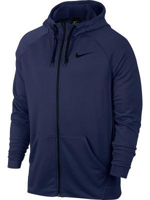 Толстовка M NK DRY HOODIE FZ FLEECE Nike. Цвет: синий, черный