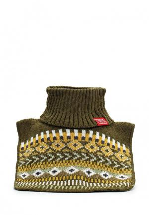 Воротник Tutu. Цвет: хаки