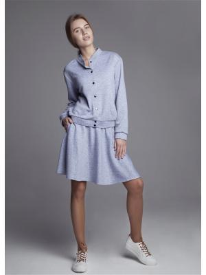Куртка ЛитанияMIR. Цвет: серый