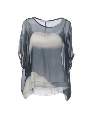 Блузка OTTOD'AME. Цвет: грифельно-синий