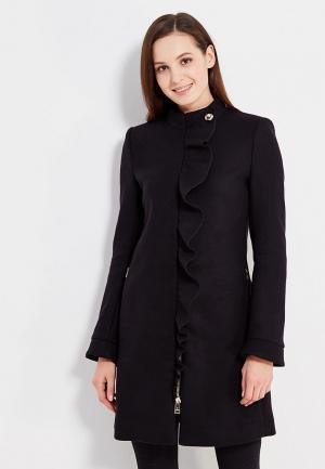 Пальто Motivi. Цвет: черный