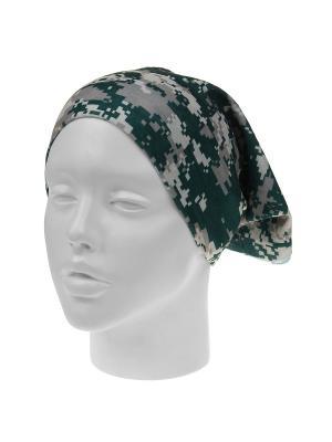 Повязка на голову Infiniti. Цвет: зеленый, серый