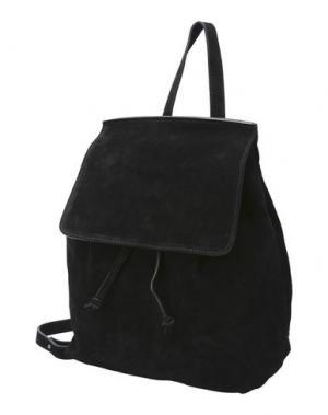 Рюкзаки и сумки на пояс MANIFATTURE CAMPANE. Цвет: черный