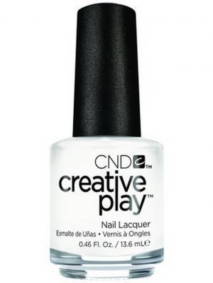 Лак для ногтей CND 91123 Creative Play # 452 (I Blanked Out), 13,6 мл. Цвет: белый
