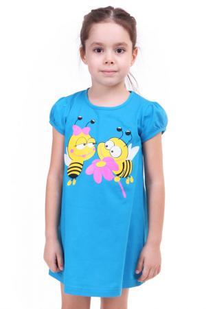 Платье СВIТАНАК. Цвет: бирюзовый