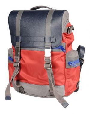Рюкзаки и сумки на пояс DOLCE & GABBANA. Цвет: кирпично-красный