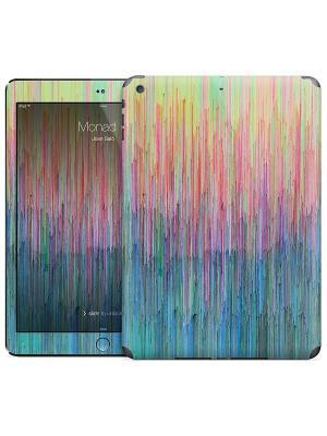 Наклейка на iPad Air Monad 5 - Joan Salo Gelaskins. Цвет: бирюзовый, лазурный, зеленый