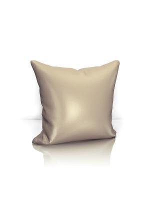 Декоративная подушка Avery Kauffort. Цвет: светло-коричневый