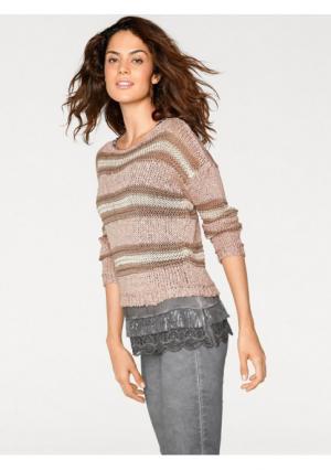 Пуловер Linea Tesini. Цвет: в полоску