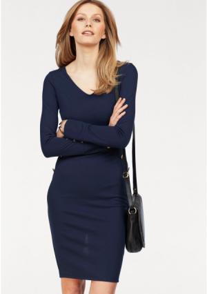 Платье BRUNO BANANI. Цвет: темно-синий