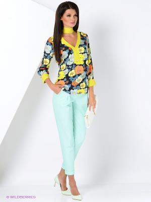 Блуза Ksenia Knyazeva. Цвет: темно-синий