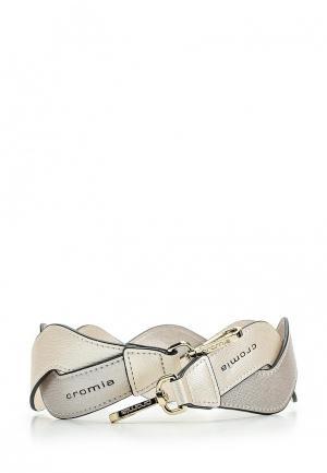 Ремень для сумки Cromia. Цвет: серебряный