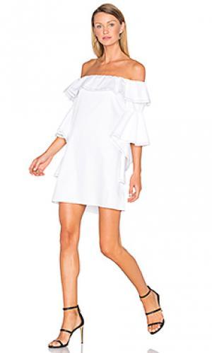 Платье rachel Alexis. Цвет: белый