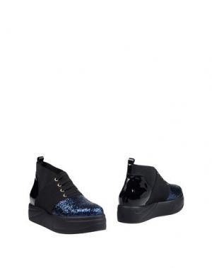 Полусапоги и высокие ботинки JEANNOT. Цвет: темно-синий