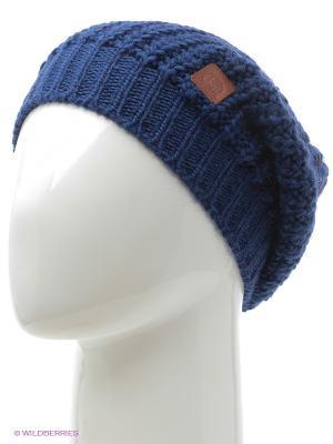Шапка BUFF KNITTED HATS GRIBLING BLUE LIMOGES. Цвет: темно-синий