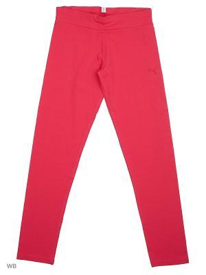 Леггинсы Style ESS Leggings G PUMA. Цвет: малиновый