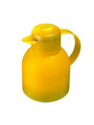 Термос EMSA SAMBA кофейник 1.0л желтый 508950. Цвет: желтый