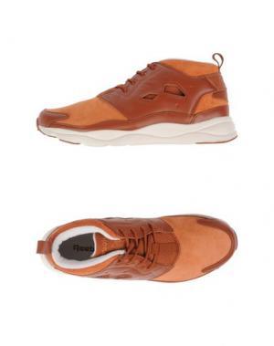 Высокие кеды и кроссовки REEBOK. Цвет: ржаво-коричневый