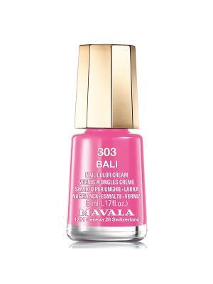 Лак для ногтей тон 303 Bali Mavala. Цвет: розовый