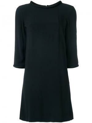 Платье-туника Lola Goat. Цвет: чёрный
