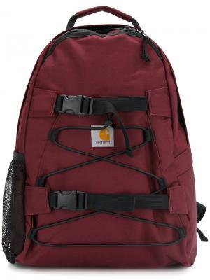 Рюкзак с пряжками Carhartt. Цвет: розовый и фиолетовый