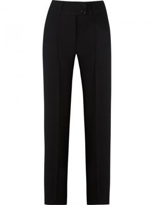 Прямые брюки Gloria Coelho. Цвет: чёрный