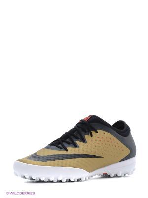 Шиповки MERCURIALX FINALE TF Nike. Цвет: желтый