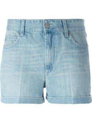Джинсовые шорты Peter Isabel Marant Étoile. Цвет: синий