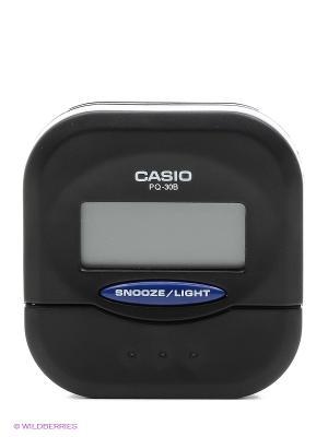 Часы СASIO PQ-30B-1E CASIO. Цвет: черный