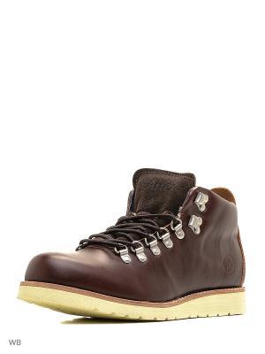 Ботинки Affex. Цвет: темно-коричневый