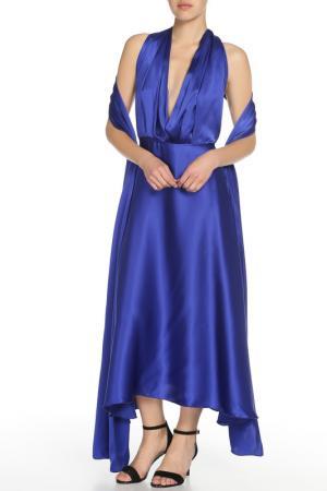 Платье-трансформер Von Vonni. Цвет: ярко-синий