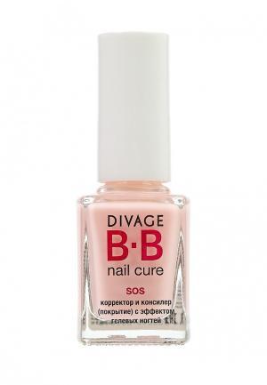 BB-корректор Divage. Цвет: розовый
