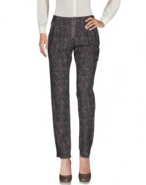 Повседневные брюки EMMA&GAIA. Цвет: темно-коричневый
