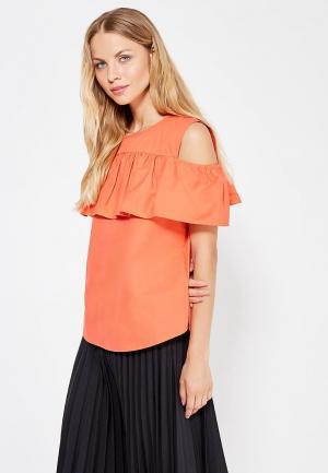 Блуза Care of You. Цвет: оранжевый