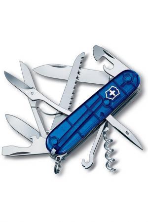 Нож перочинный 15 функций Victorinox. Цвет: синий