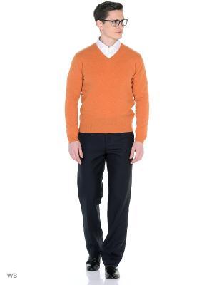 Пуловер Dr. Koffer. Цвет: оранжевый