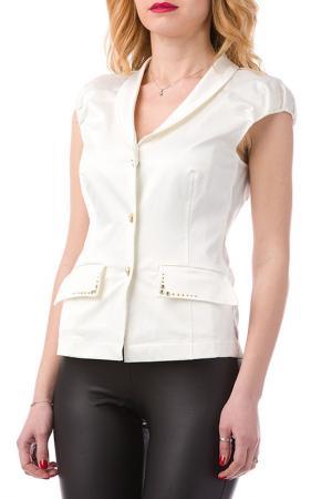 Блуза JOELLE JO'ELLE. Цвет: белый