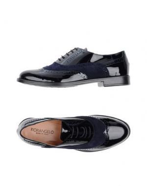 Обувь на шнурках FIORANGELO. Цвет: темно-синий