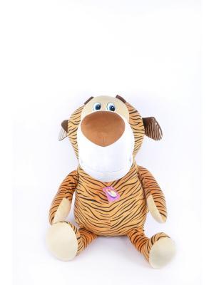 Мягкая игрушка Мега Тигр 47.8.1 цвет оранжевый Malvina. Цвет: оранжевый