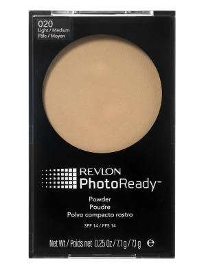 Пудра для лица Photoready Powder, Light-medium 20 Revlon. Цвет: бежевый
