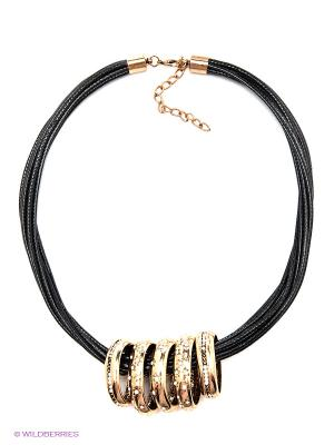 Колье Lovely Jewelry. Цвет: золотистый, черный